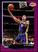 2018-19 Panini Hoops Purple #175 Kyle Kuzma NM-MT Los Angeles Lakers Official NBA Basketball Card