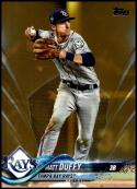 2018 Topps Update Gold #US272 Matt Duffy NM-MT 254/2018 Tampa Bay Rays Official MLB Baseball Card