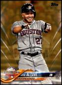 2018 Topps Update Gold #US299 Jose Altuve NM-MT 992/2018 Houston Astros Official MLB Baseball Card