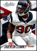 2014 Panini Absolute Retail #143 Jadeveon Clowney NM-MT RC Houston Texans Official NFL Trading Card
