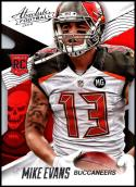 2014 Panini Absolute Retail #144 Mike Evans NM-MT RC Tampa Bay Buccaneers Official NFL Trading Card