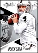 2014 Panini Absolute Retail #147 Derek Carr NM-MT RC Oakland Raiders Official NFL Trading Card