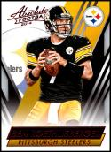 2014 Panini Absolute Retail Red #37 Ben Roethlisberger NM-MT Pittsburgh Steelers Official NFL Football Card
