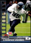 2008 Topps Stadium Club Photographer's Proofs Silver #197 Lawrence Jackson NM-MT 159/199 Seattle Seahawks