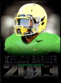 2013 Press Pass #6 Kenjon Barner NM-MT Oregon Ducks