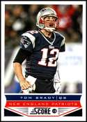 2013 Panini Score #123 Tom Brady NM-MT New England Patriots  Official NFL Football Card