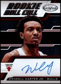 2018-19 Panini Certified Rookie Roll Call #RRC-WC Wendell Carter Jr. NM-MT Chicago Bulls Official NBA Basketball Card
