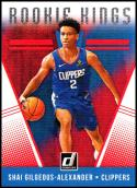 2018-19 Donruss Rookie Kings #21 Shai Gilgeous-Alexander NM-MT Los Angeles Clippers Official NBA Basketball Card
