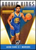2018-19 Donruss Rookie Kings #25 Jacob Evans III NM-MT Golden State Warriors Official NBA Basketball Card