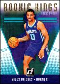 2018-19 Donruss Rookie Kings Press Proof #8 Miles Bridges NM-MT Charlotte Hornets Official NBA Basketball Card