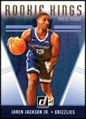 2018-19 Donruss Rookie Kings Press Proof #19 Jaren Jackson Jr. NM-MT Memphis Grizzlies Official NBA Basketball Card