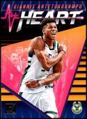 2018-19 Donruss All Heart #4 Giannis Antetokounmpo NM-MT Milwaukee Bucks Official NBA Basketball Card