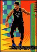 2018-19 Donruss All-Stars #14 Giannis Antetokounmpo NM-MT Milwaukee Bucks Official NBA Basketball Card