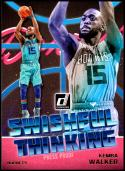 2018-19 Donruss Swishful Thinking Press Proof #10 Kemba Walker NM-MT Charlotte Hornets Official NBA Basketball Card