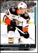 2018-19 Upper Deck #216 Max Comtois NM-MT Anaheim Ducks Official NHL Hockey Card