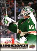 2018-19 Upper Deck Canvas #C43 Devan Dubnyk NM-MT Minnesota Wild Official NHL Hockey Card