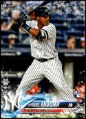 2018 Topps Holiday #HMW14 Miguel Andujar NM-MT RC New York Yankees Official MLB Trading Card