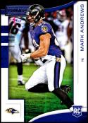 2018 Panini Rookies and Stars #174 Mark Andrews NM-MT RC Baltimore Ravens Official NFL Rookie Card