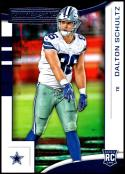2018 Panini Rookies and Stars #192 Dalton Schultz NM-MT RC Dallas Cowboys  Official NFL Rookie Card