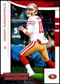 2018 Panini Rookies and Stars #32 Jimmy Garoppolo NM-MT San Francisco 49ers Official NFL Football Card