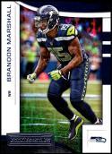 2018 Panini Rookies and Stars #37 Brandon Marshall NM-MT Seattle Seahawks Official NFL Football Card