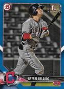2018 Bowman Draft Blue #BD-176 Raynel Delgado NM-MT 132/150 Cleveland Indians Official MLB Baseball Card
