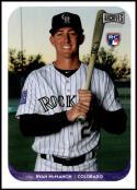 2018 Topps Archives Snapshots #AS-RM Ryan McMahon NM-MT RC Colorado Rockies Official MLB Baseball Card