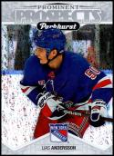 2018-19 Upper Deck Parkhurst Prominent Prospects #PP-19 Lias Andersson NM-MT New York Rangers Official NHL Hockey Cards