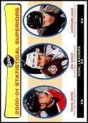 2001-02 Upper Deck Vintage #261 Jaromir Jagr/Joe Sakic/Pavel Bure NM-MT Official NHL Hockey Card