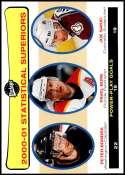 2001-02 Upper Deck Vintage #264 Joe Sakic/Peter Bondra/Pavel Bure NM-MT  Official NHL Hockey Card