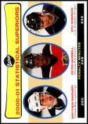 2001-02 Upper Deck Vintage #266 Matthew Barnaby/Peter Worrell/Stu Grimson NM-MT Official NHL Hockey Card