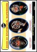 2001-02 Upper Deck Vintage #269 Mike Dunham/Sean Burke/Marty Turco NM-MT Official NHL Hockey Card