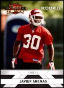 2010 Panini Threads #239 Javier Arenas NM-MT RC Kansas City Chiefs Official NFL Football Card