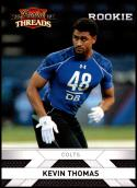 2010 Panini Threads #251 Kevin Thomas NM-MT RC Indianapolis Colts Official NFL Football Card