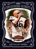 2010 Panini Threads Pro Gridiron Kings Framed Blue #34 Gary Collins NM-MT 12/50 Cleveland Browns Official NFL Card