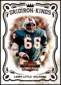 2010 Panini Threads Pro Gridiron Kings #6 Larry Little NM-MT Miami Dolphins Official NFL Football Card