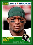 2013 Panini Score Rookie #392 Le'Veon Bell NM-MT RC Pittsburgh Steelers Official NFL Football Card
