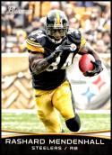 2012 Bowman Signatures #23 Rashard Mendenhall NM-MT Pittsburgh Steelers Official NFL Football Card