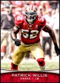 2012 Bowman Signatures #39 Patrick Willis NM-MT San Francisco 49ers Official NFL Football Card