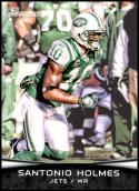 2012 Bowman Signatures #41 Santonio Holmes NM-MT New York Jets Official NFL Football Card