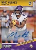 2018 Panini Playoff Rookies Autographs #253 Mike Hughes NM-MT Minnesota Vikings