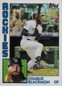 2019 Topps Silver Packs Refractors #T84-10 Charlie Blackmon NM-MT Colorado Rockies Official MLB Baseball Card
