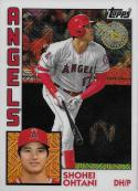 2019 Topps Silver Packs Refractors #T84-17 Shohei Ohtani NM-MT Los Angeles Angels Official MLB Baseball Card