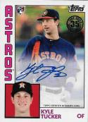 2019 Topps 1984 Topps Autographs #84A-KT Kyle Tucker NM-MT Auto Houston Astros Official MLB Baseball Card