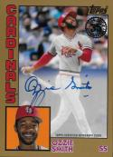 2019 Topps 1984 Topps Autographs Gold #84A-OS Ozzie Smith NM-MT Auto St. Louis Cardinals
