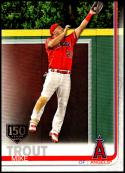 2019 Topps 150th Anniversary #100 Mike Trout Los Angeles Angels