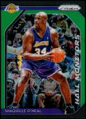 2018-19 Panini Prizm Hall Monitors Prizms Green #6 Shaquille O'Neal Los Angeles Lakers