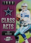 2018 Panini Contenders Optic Class Acts Purple #CA-TA Troy Aikman 69/99 NM-MT Dallas Cowboys
