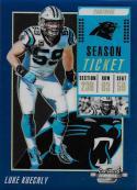 2018 Panini Contenders Optic Blue #77 Luke Kuechly 57/99 NM-MT Carolina Panthers
