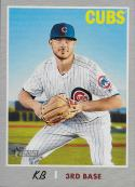 2019 Topps Heritage Nickname Variations #404 Kris Bryant SP NM-MT Chicago Cubs